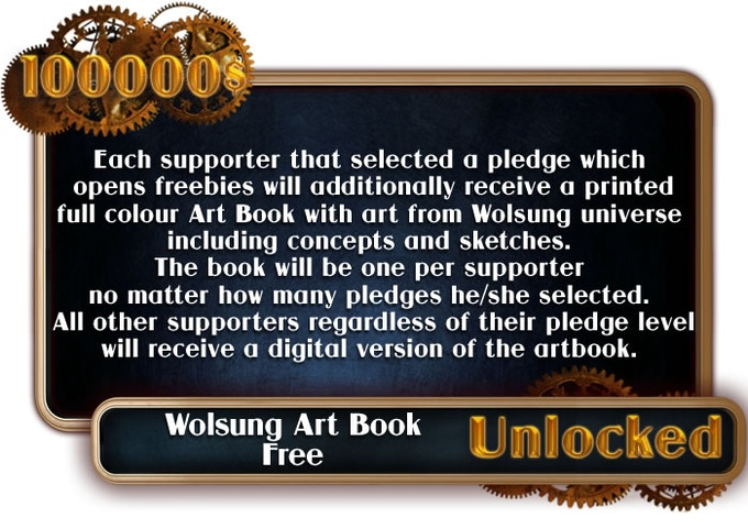 Stretch Goal Art Book