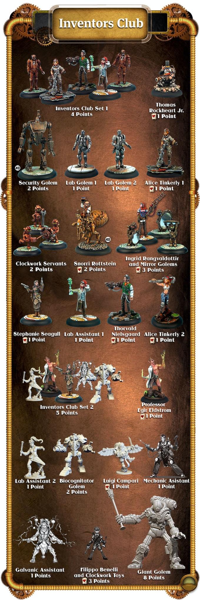 Inventors Miniatures