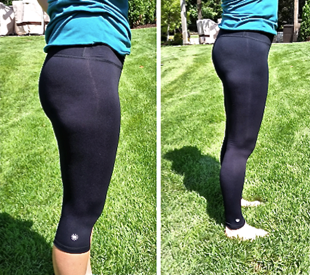 2 pairs of Cropped Fitness Yoga Pants or 2 pairs of Fitness Yoga Pants