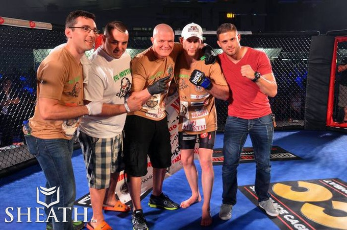 """Supporting MMA TEAM Kyle """"The Monster"""" Nelson"""