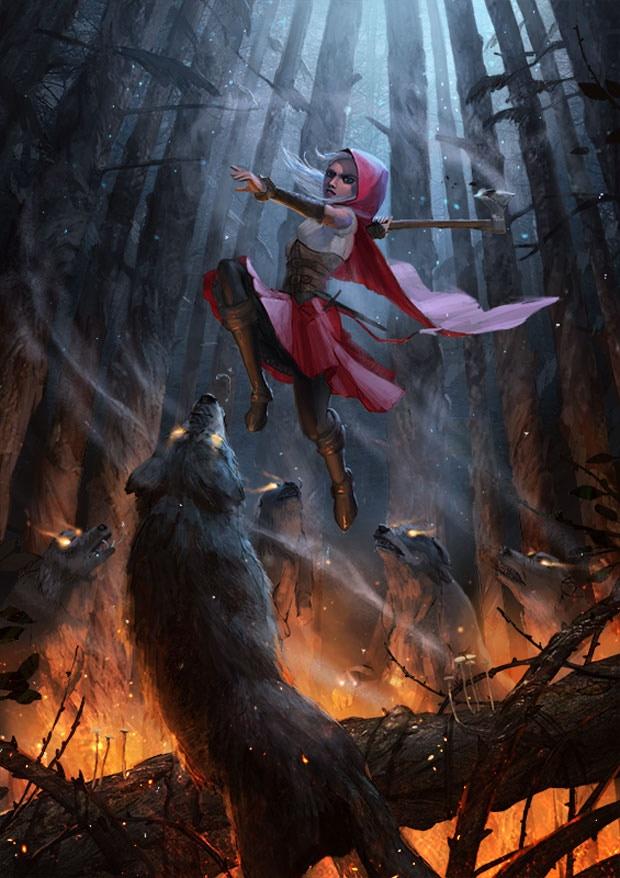 Woolfe The Red Hood Diaries By Grin Gamestudio Kickstarter