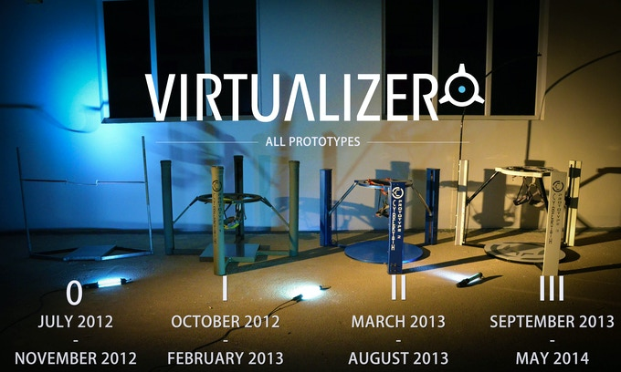 All Prototypes of the Virtualizer. They grow up so fast...
