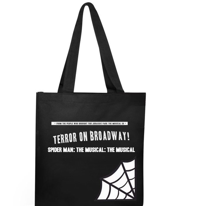 This tote bag design is not final, but it'll probably be pretty much like this.