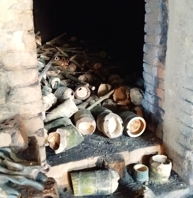 One of the actual kilns used for Purggo