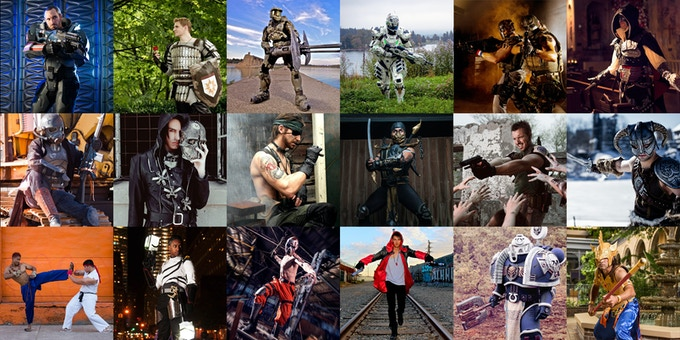 Last year's Men vs Cosplay calendar - fully upgraded and featuring cosplayers from all over the world. Photographed by talented photographers in their local area.