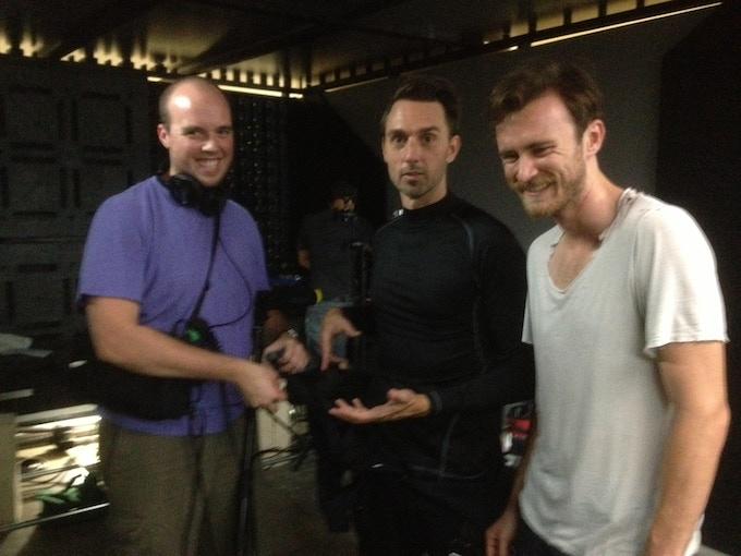 Matt Kendrick, Christopher Soren Kelly and Jesse Arrow