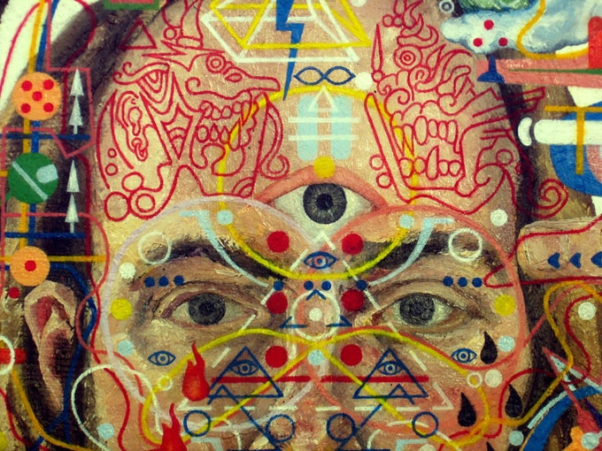 The Serpent's Egg in the Seat of Consciousness (Detail)