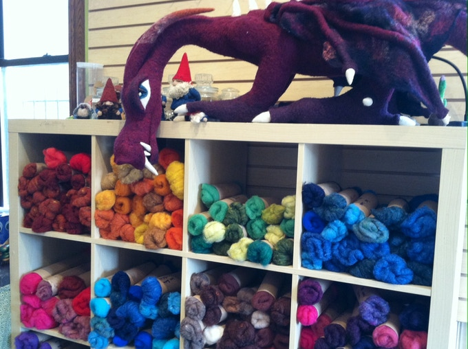 Wool - beautiful colors dyed in the US