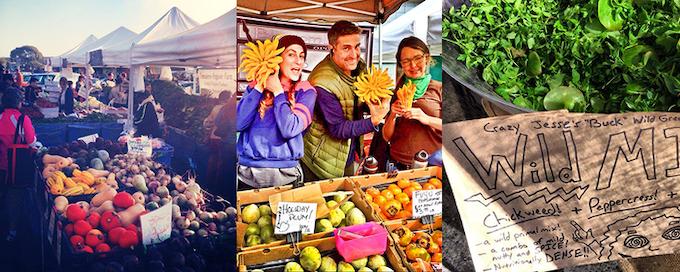 Saturday Famers Market excursion