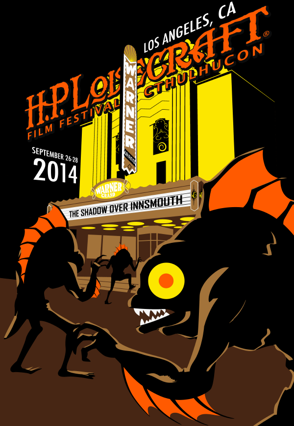 2014 LOS ANGELES H P  Lovecraft Film Festival & CthulhuCon
