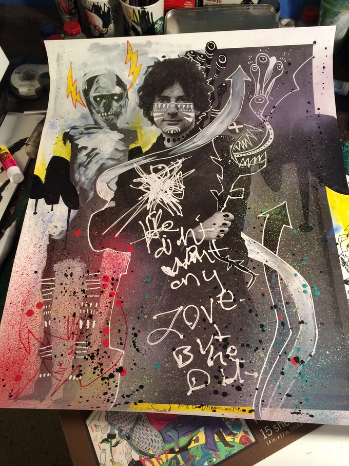 #3 Neil Gaiman by Jim Mahfood, Jason Shawn Alexander and Amanda Palmer