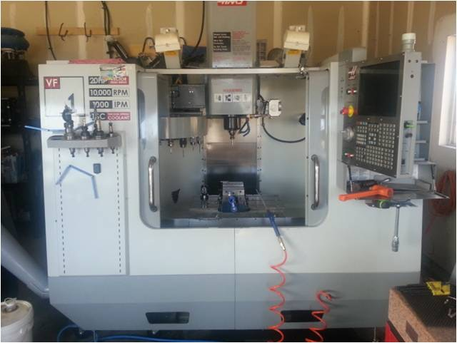 Jess in Utah will manufacture the Totem Pen for us on this great piece of CNC machinery! All made in USA!