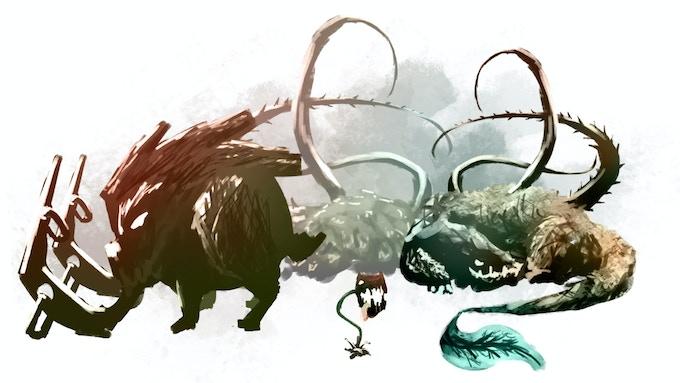 Forest Creature Concept