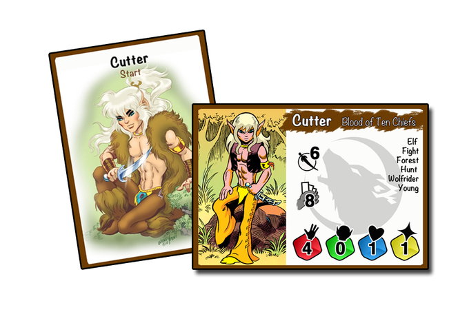 Cutter Character Card