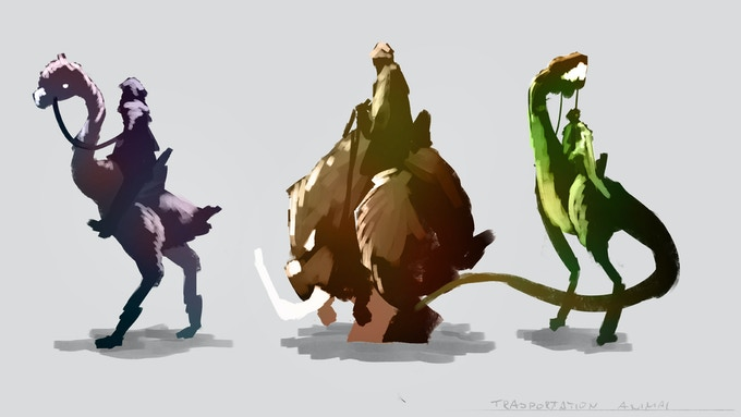 Transportation Creature Concept