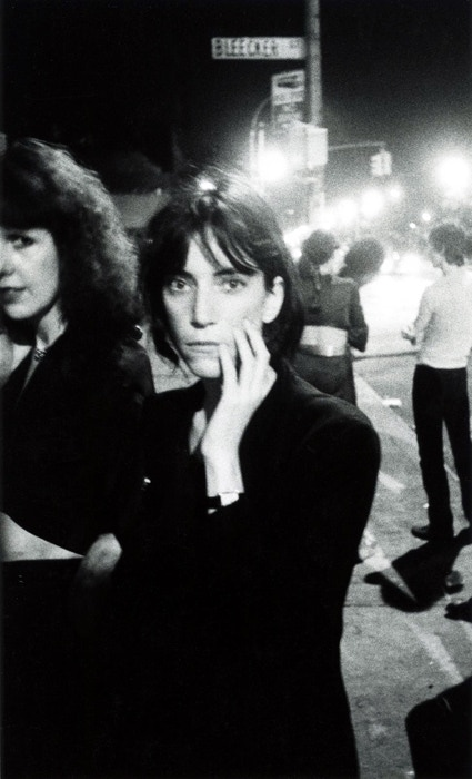 Patti Smith, Bowery 1976 - available 8x10, 11x14, 16x20 silver prints