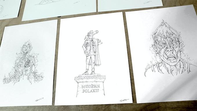 Sample of original Art