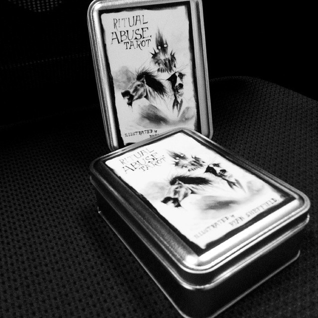 Risultati immagini per ritual abuse tarot