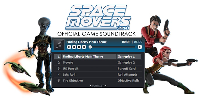 Click to go to Space Movers Soundtrack page