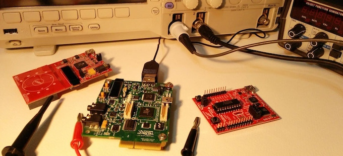 Evaluation boards for JackPair prototyping