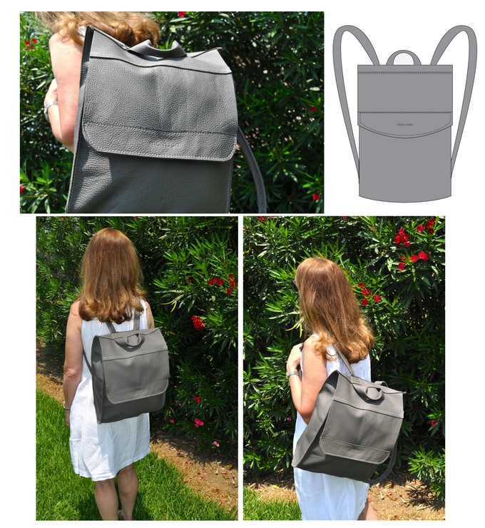 Ashley backpack - takes you from school to shopping and everything in between with ease!
