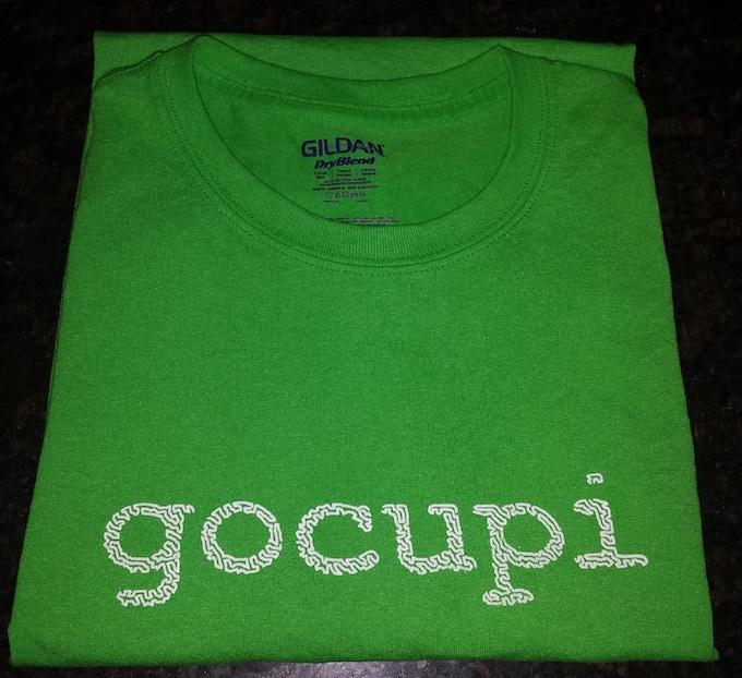 gocupi green - included @ $25