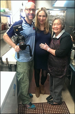 Director, Producer, and Mekong Bistro Mom!
