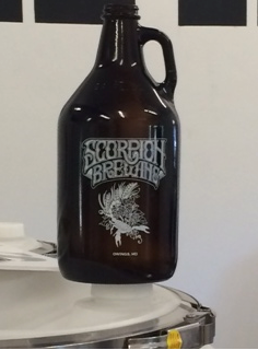 The growler backers at $125 and up will receive.