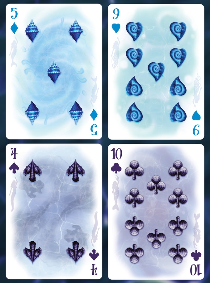 A sample of the numbered cards.