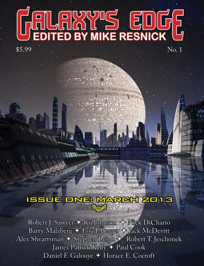 Galaxy's Edge #1, includes Requiem for a Druid (a 2013 Tangent Online Recommended Reading List selection)