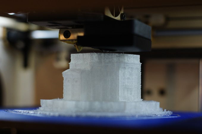 A 3D printed site (but I can't tell you which one).