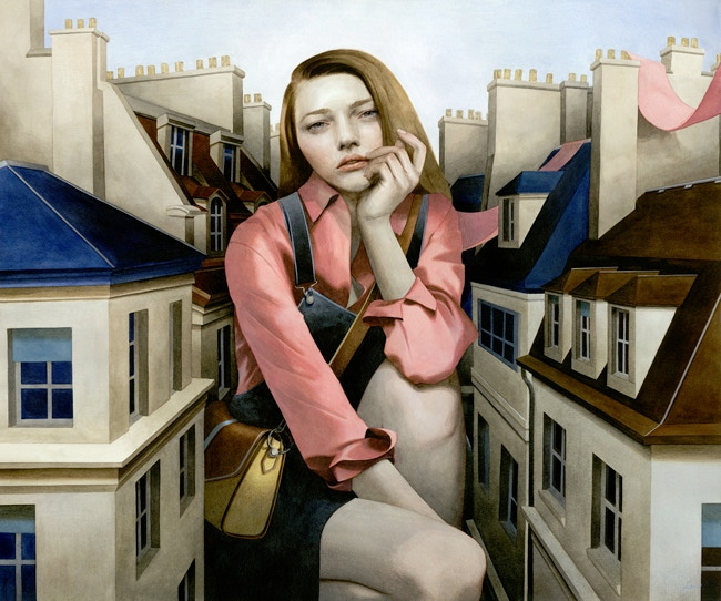 A Sentimental Swallow by Tran Nguyen
