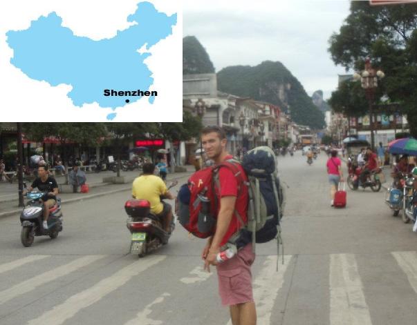 Me in Shen Zhen