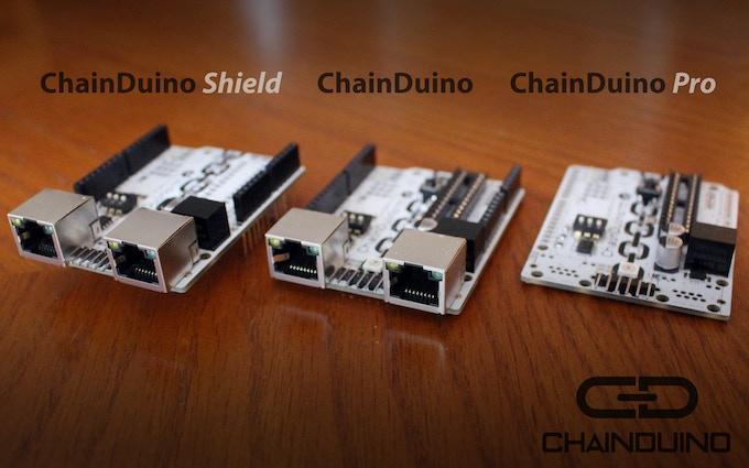 ChainDuino Shield vs ChainDuino vs ChainDuino Pro