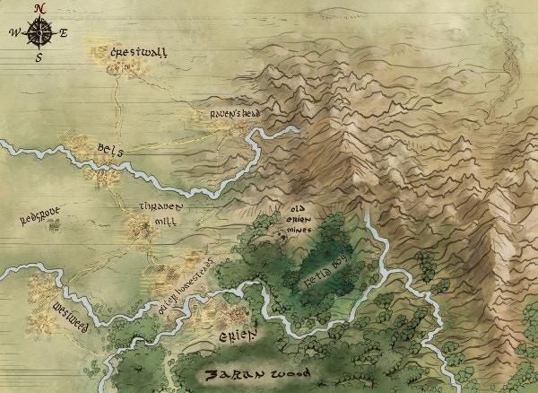 Cartography by Stephen Garrett Rusk