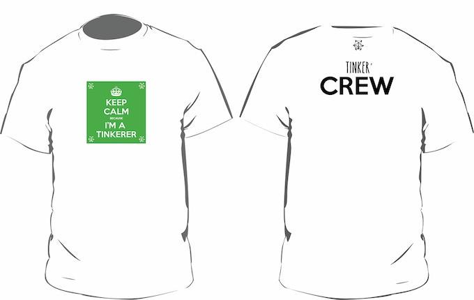 """""""Be Calm T"""" - CREW"""