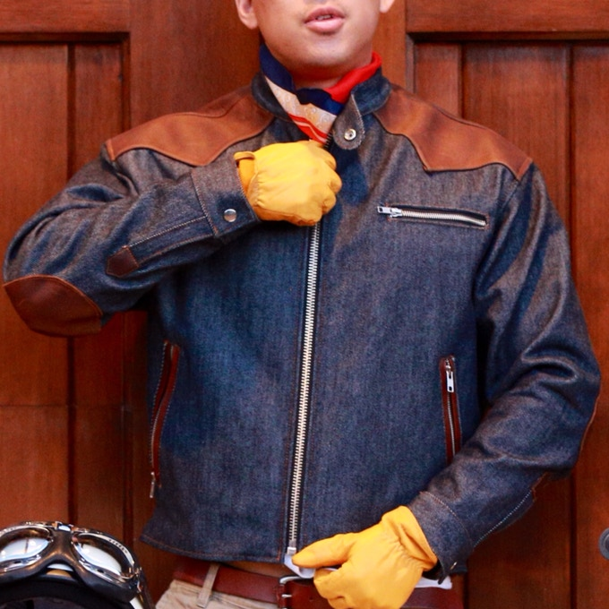 Limited Edition Cafe Racer Jacket