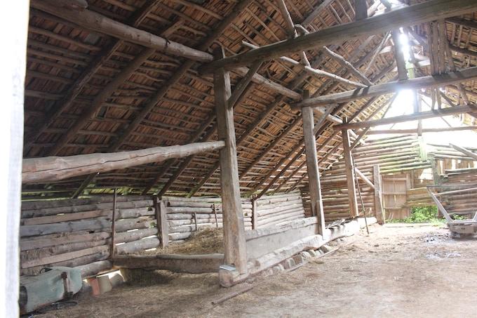 Interior view of Barn 2 b