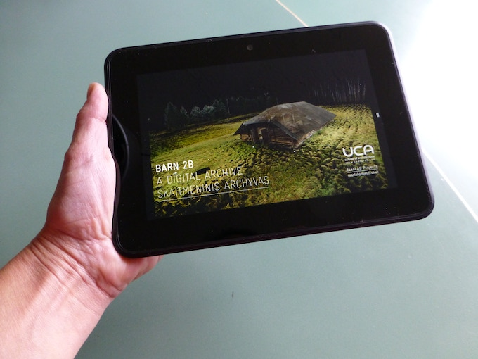 CG Architect shortlisted tablet APP available in iTunes as reward