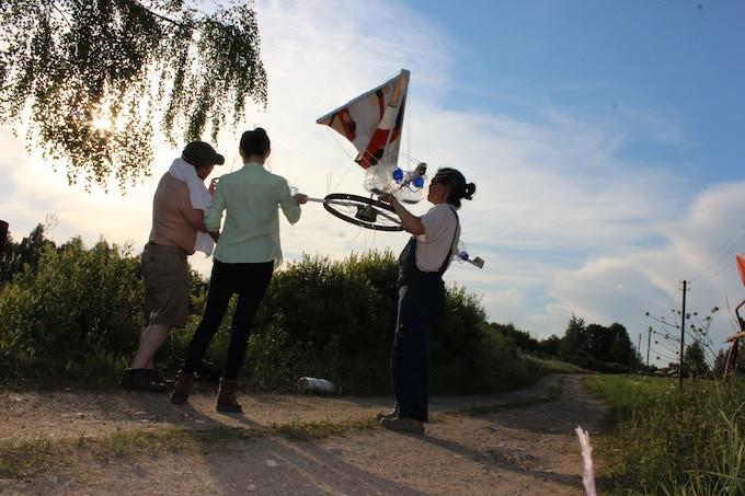 Launching Ken's lake project