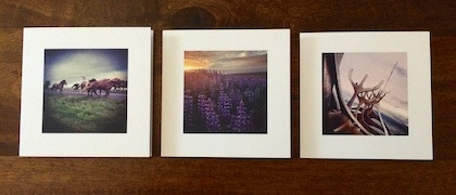 Examples of the 4in x 4in Custom Stationary by PRINTSTAGRAM