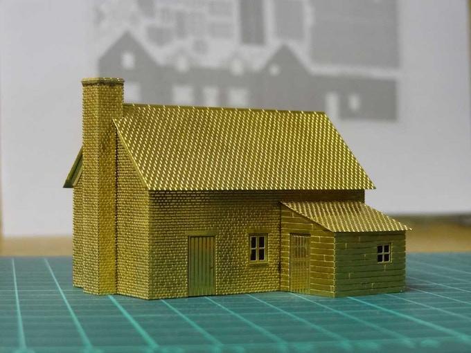 Kit 1 : Orchard Cottage - back