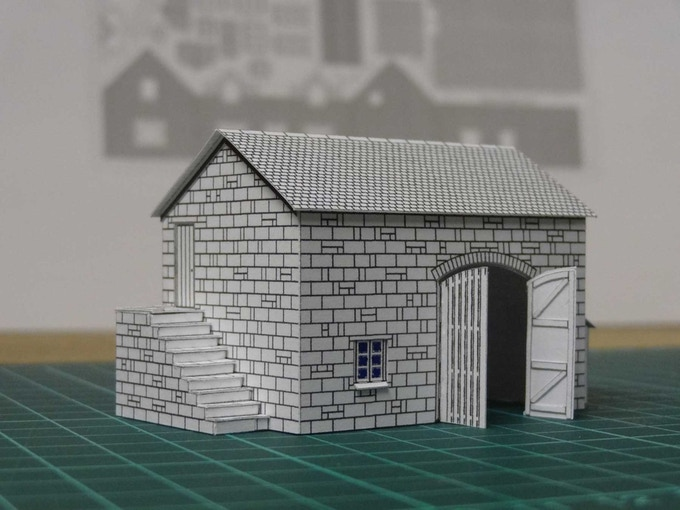 Kit 3 : a barn - left view