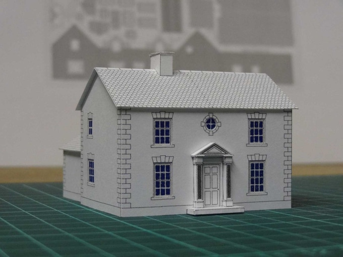 Kit 4 : a classical style home - front