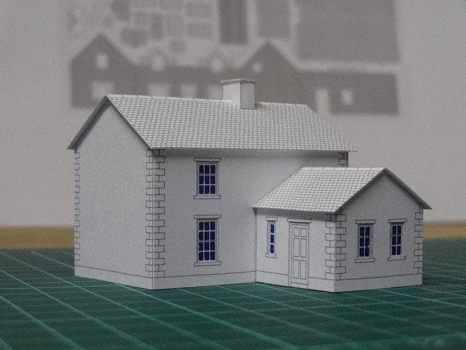 Kit 4 : a classical style home - back