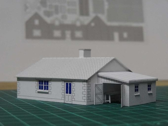 Kit 5 : a bungalow - front