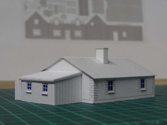 Kit 5 : a bungalow - back