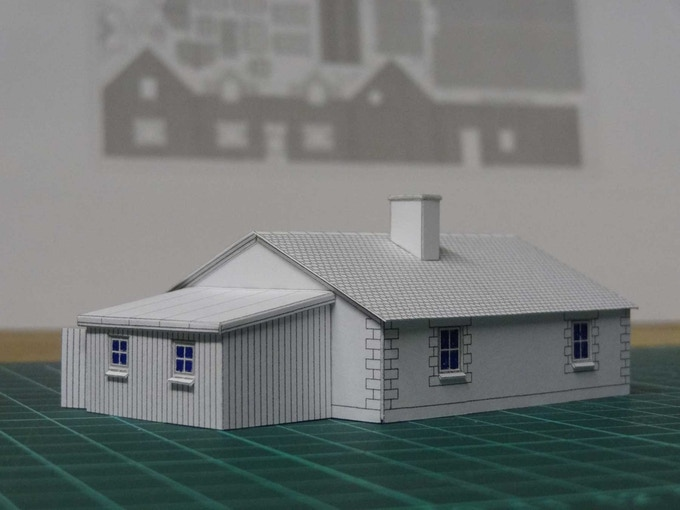 a house in your hand architectural miniature model kits by andy
