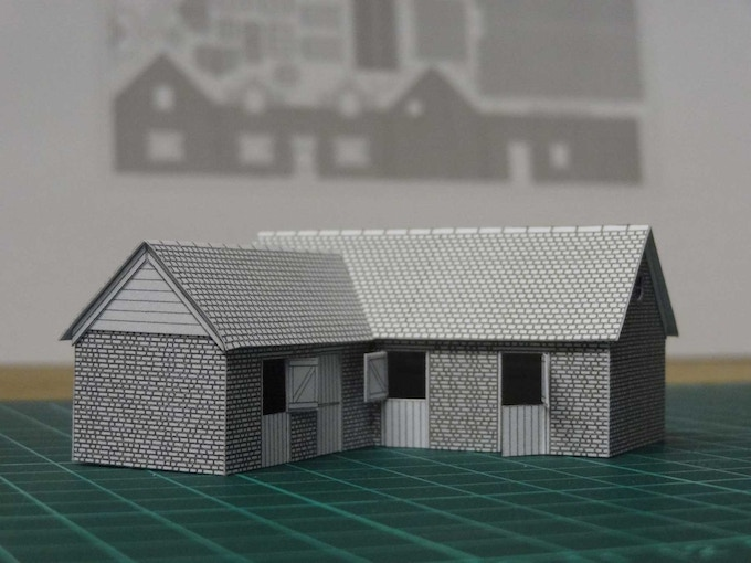 Kit 6 : stables - front