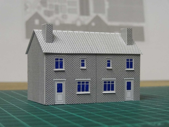 A House in Your Hand - architectural miniature model kits by